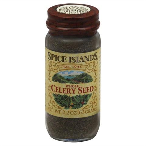 SPICE ISLAND CELERY SEED WHOLE-2.2 OZ -Pack of 3