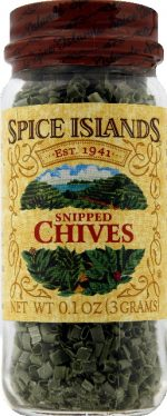 SPICE ISLAND CHIVES SNIPPED FRZE DRY-0.1 OZ -Pack of 3