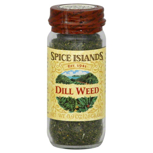 SPICE ISLAND DILL WEED-0.9 OZ -Pack of 3