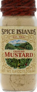 SPICE ISLAND MUSTARD GRND HOT-1.8 OZ -Pack of 3