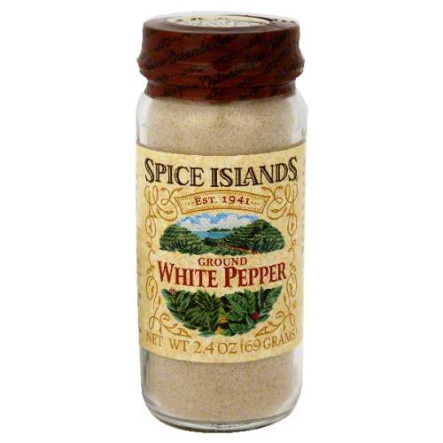 SPICE ISLAND PEPPER WHITE GRND-2.6 OZ -Pack of 3