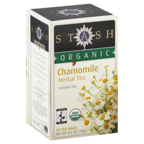 STASH TEA TEA CHAMOMILE ORG-18 BG -Pack of 6