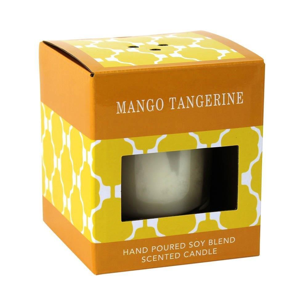 SWM 12010647 Mango Tangerine Scented Candle