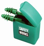 Safety Works 219747 Rubber Ear Plugs & Cord