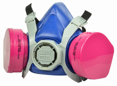 Safety Works 224651 Toxic Dust Respirator