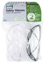 Safety Works 7126865 Glasses Clear Gray - Pack of 2