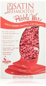 Satinsmooth SSWBCHG 35 oz Wild Cherry Pebble Wax with Vitamin E