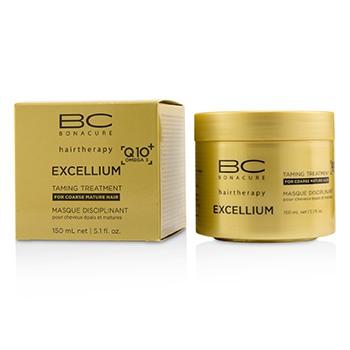 Schwarzkopf 221384 150 ml BC Excellium Q10 Plus Omega 3 Taming Treatment for Coarse Mature Hair