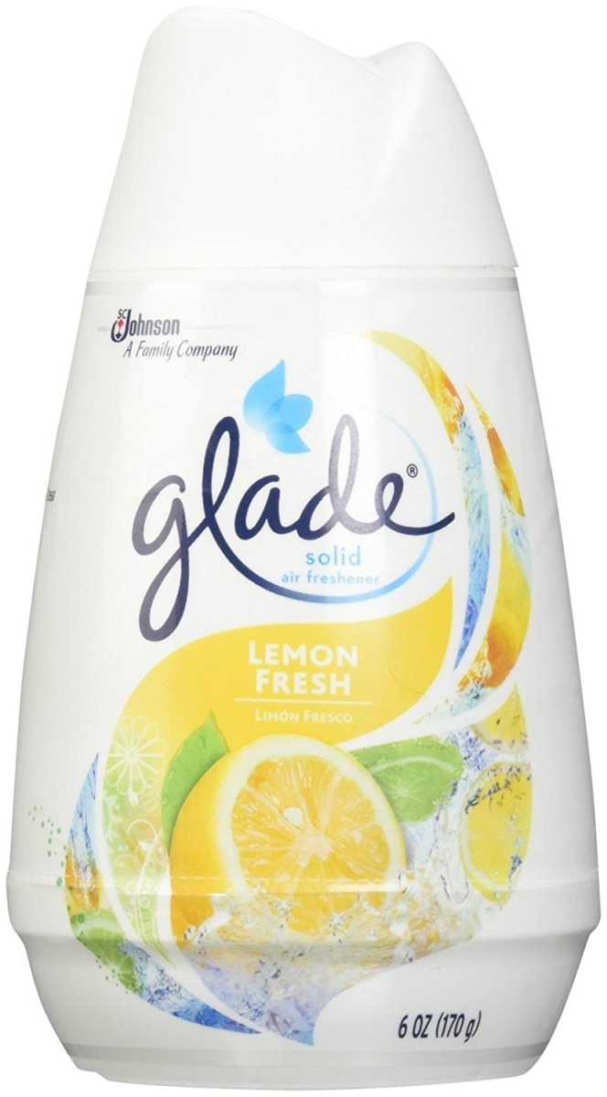 Scjohn 76254 LEM 6 oz Glade Solid Air Freshener - Fresh Lemon pack of 12