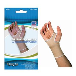 Scott Specialties SSSA1361BEISM Sportaid Wrist Brace Slip-On Beige Small