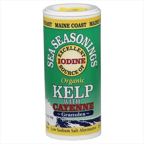 Sea Seasoning Kelp Granules w/ Cayenne 1.50 Ounces