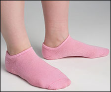 Secure GELSOCKS-1P Moisturizing Gel Socks Pink
