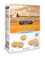 Sesmark Foods B23635 Sesmark Foods Lightly Salted Mini Rice Crackers -6x5.25 Oz