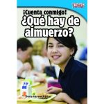 Shell Education 15460 Cuenta Conmigo Qu Hay De Almuerzo - CountMe In Whats For Lunch