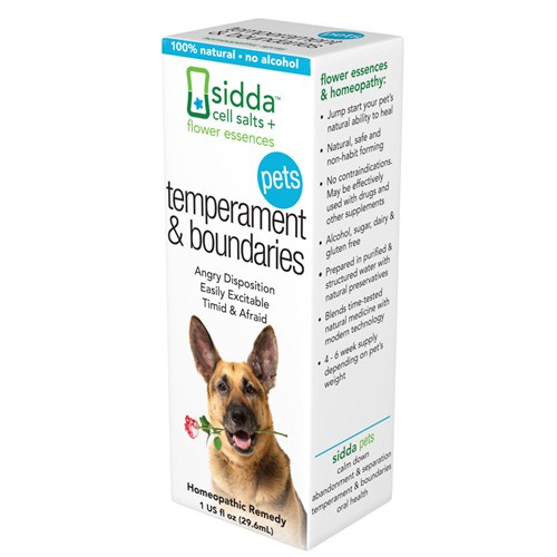 Sidda Flower Essences ECW1557214 1 fl oz Essences Temperment & Boundaries Pets