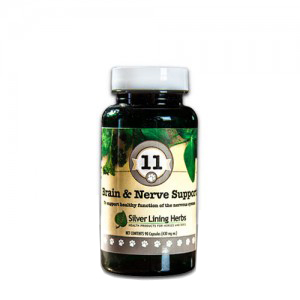 Silver Lining Herbs k11c Brain and Nerve 11 Brain and Nerve Support