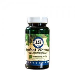 Silver Lining Herbs k13c Herbal Wormer 13 Herbal Wormer