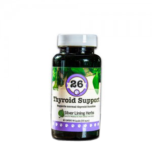 Silver Lining Herbs k26c Thyroid Support 26 Thyroid Support