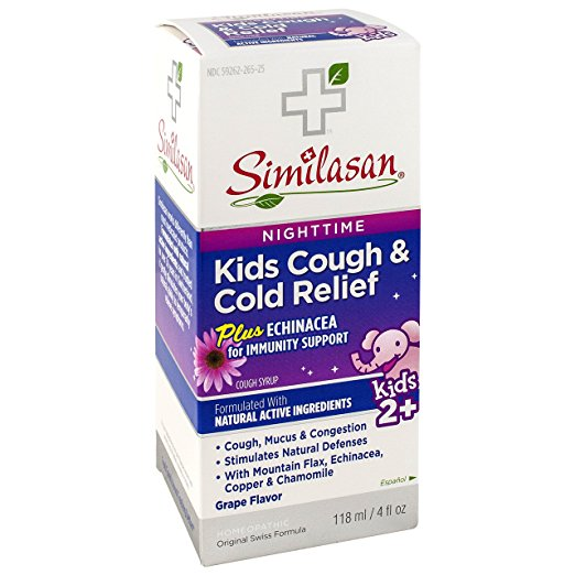 Similasan 459614 4 oz Kid Cough & Cold Nighttime Relief