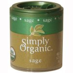 Simply Organic 25524 Mini Organic Sage Ground