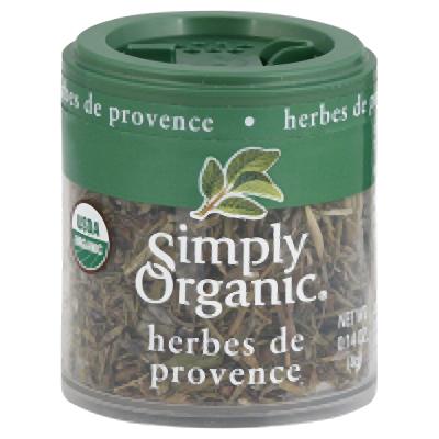 Simply Organic Mini Og Herbes De Provenc 0.14-Ounce (Pack of 6)