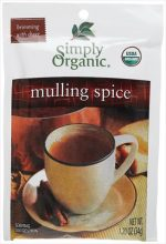 Simply Organic Mulling Spice 1.20-Ounce Pouch -Pack of 8