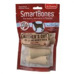 Smartbones SBBC-02311 Large Butchers Cut Mighty Chews for Dogs Pack of 2