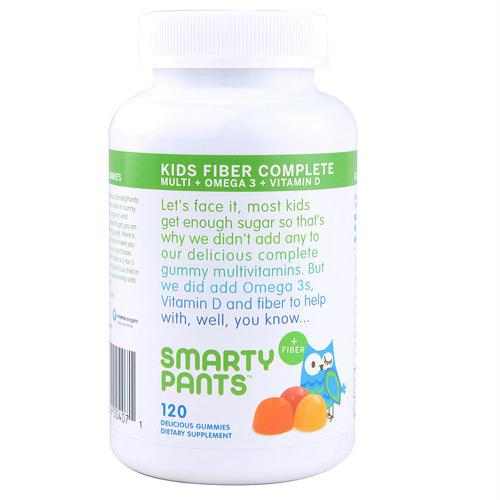 Smarty Pants Multivitamin - Kids Fiber Complete Gummy - 120 ct - 1416189