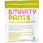 SmartyPants 1539691 0.56 oz Multivitamin All in One D3 Gummy Adlt - Case of 15