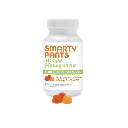Smartypants 1238112 Multi-Vitamin Plus Omega 3 with Vitamin D Capsules 180 Count