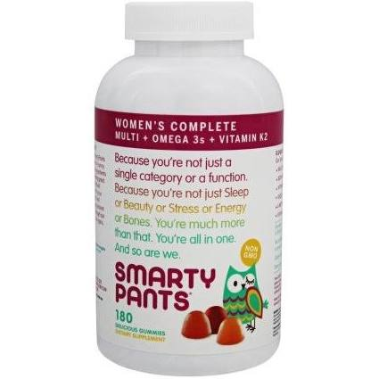 Smartypants 1861608 Womens Complete Multivitamins - 180 Count