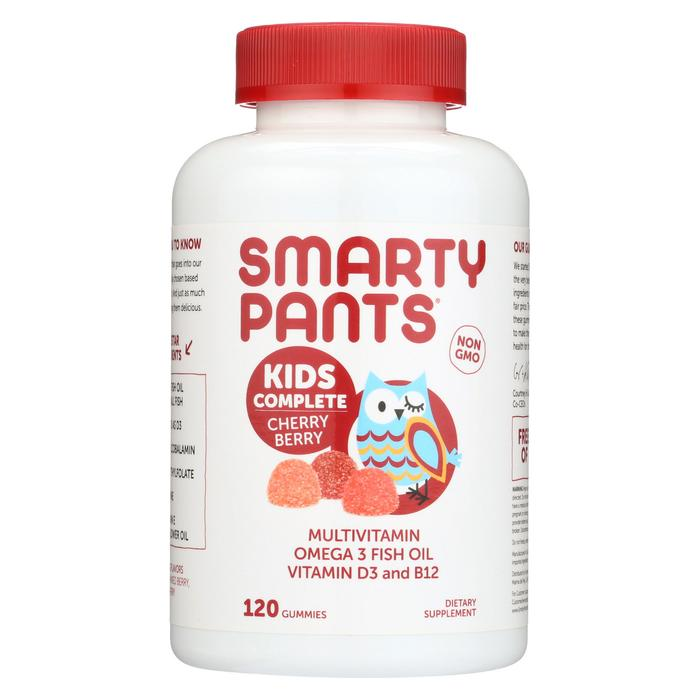 Smartypants 2150688 Cherry Gummy Vitamin Kids Complete - 120 count