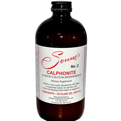 SonneS Calphonite No 2 Liquid Calcium Phosphorus - 15 Fl Oz