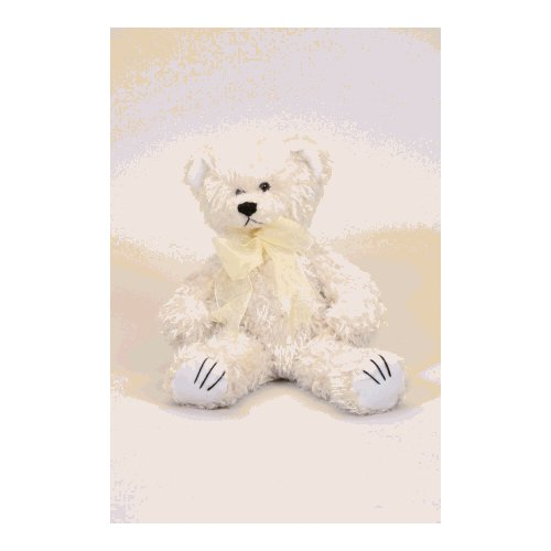 Soothese 20010 White Curly Bear