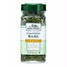 Spice Hunter B05556 Spice Hunter California Basil Leaves -6x0.3oz
