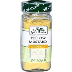 Spice Hunter B29988 Spice Hunter Mustard Ground Yellow -6x1.6oz
