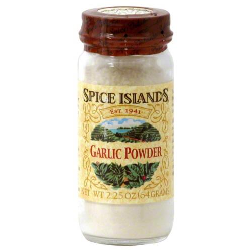 Spice Islands Garlic Powder, 2.25 oz, - Pack of 3