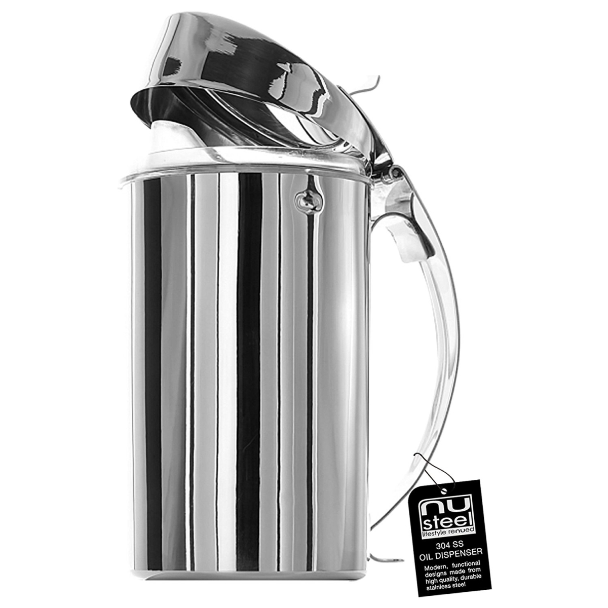 Stainless Steel Oil Dispenser - Stainless Steel
