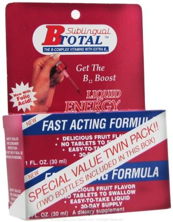 Sublingual Products 43224 Subling B Total Bonus Pack