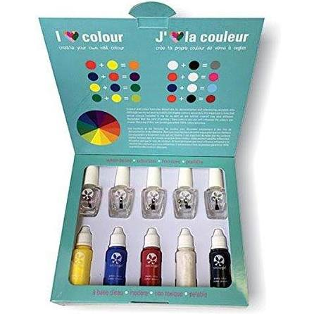 Suncoat 232744 Girl Create Your Own Nail Color - Natural Nail Salon Kits