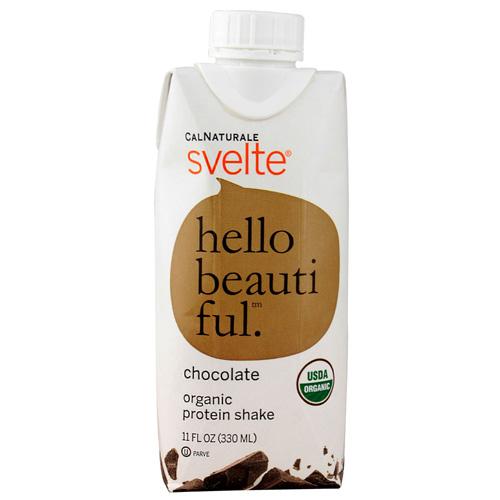 Svelte Organic Protein Shake - Chocolate 11 fl oz Case Of 8