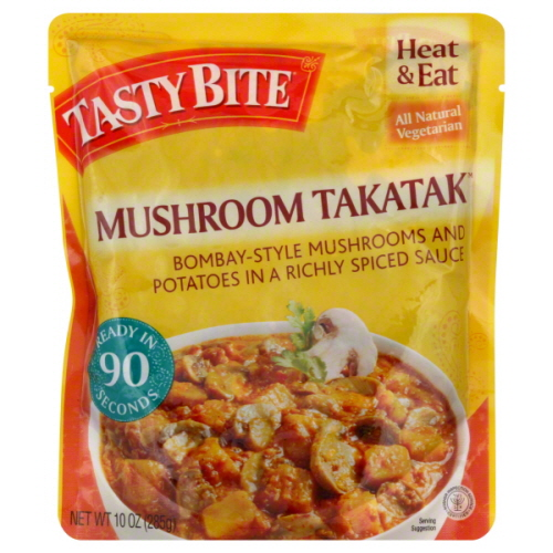TASTY BITE ENTREE MSHROOM MASALA-10 OZ -Pack of 6