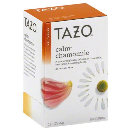 TAZO TEA CALM CHAMOMILE-20 BG -Pack of 6