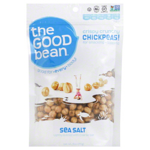 THE GOOD BEAN CHICKPEA SNK SEASLT-6 OZ -Pack of 6