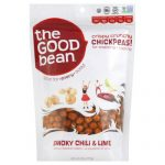 THE GOOD BEAN CHICKPEA SNK SMKD CHILI L-6 OZ -Pack of 6