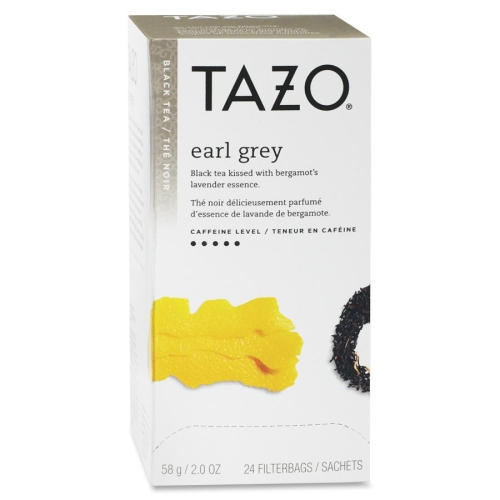 Tazo 149899 2 oz Tea Bags Earl Grey - 24 per Box