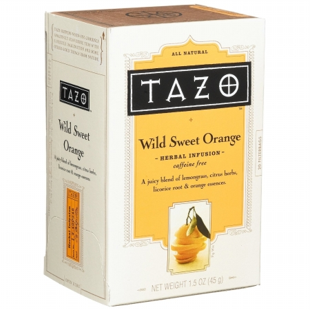 Tazo Tea 25802 Herbal Wild Sweet Orange Tea