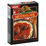 Tempo Mix Seasoning Meatball Italian-2.75 Oz -Pack Of 12