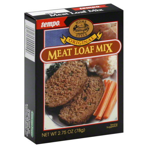 Tempo Mix Seasoning Meatloaf-2.75 Oz -Pack Of 12