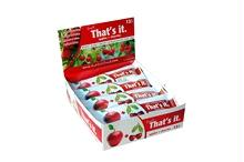 Thats It. B25292 Thats It. Apple Cherry Fruit Bar -12x1.2 Oz